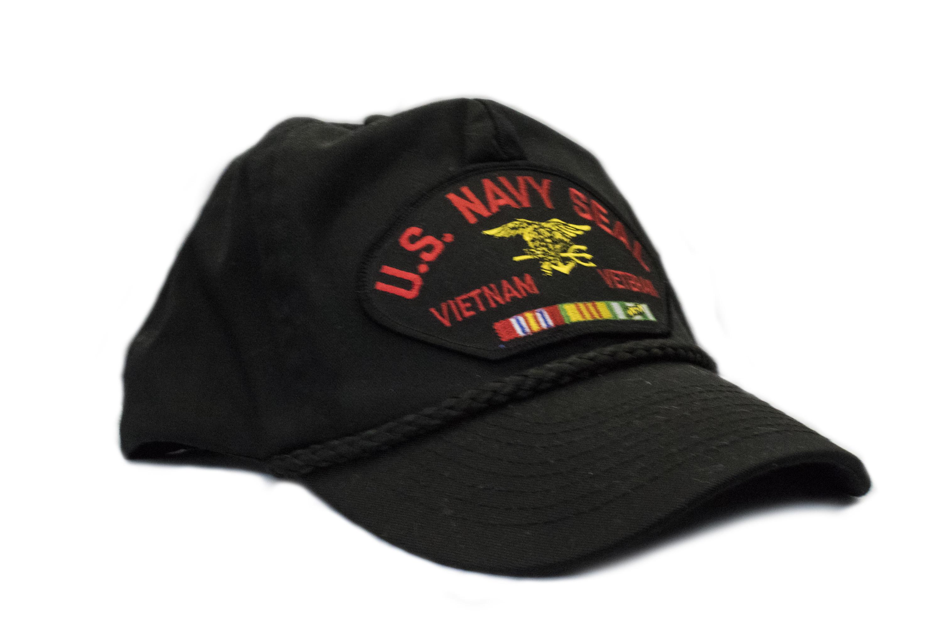 37f5f98e0 U.S. Navy Seal Vietnam Veteran Hat