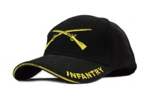 ad27e3f029fd8 U.S. Army Infantry Black and Gold Hat
