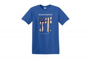 d5fc83a9c06a Americana Rakkasans Navy Blue 100% Ringspun Cotton T-Shirt